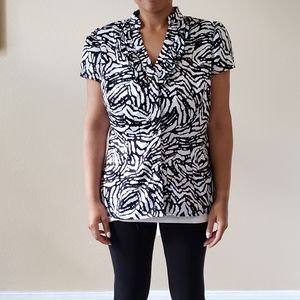 NWOT East 5th print blouse